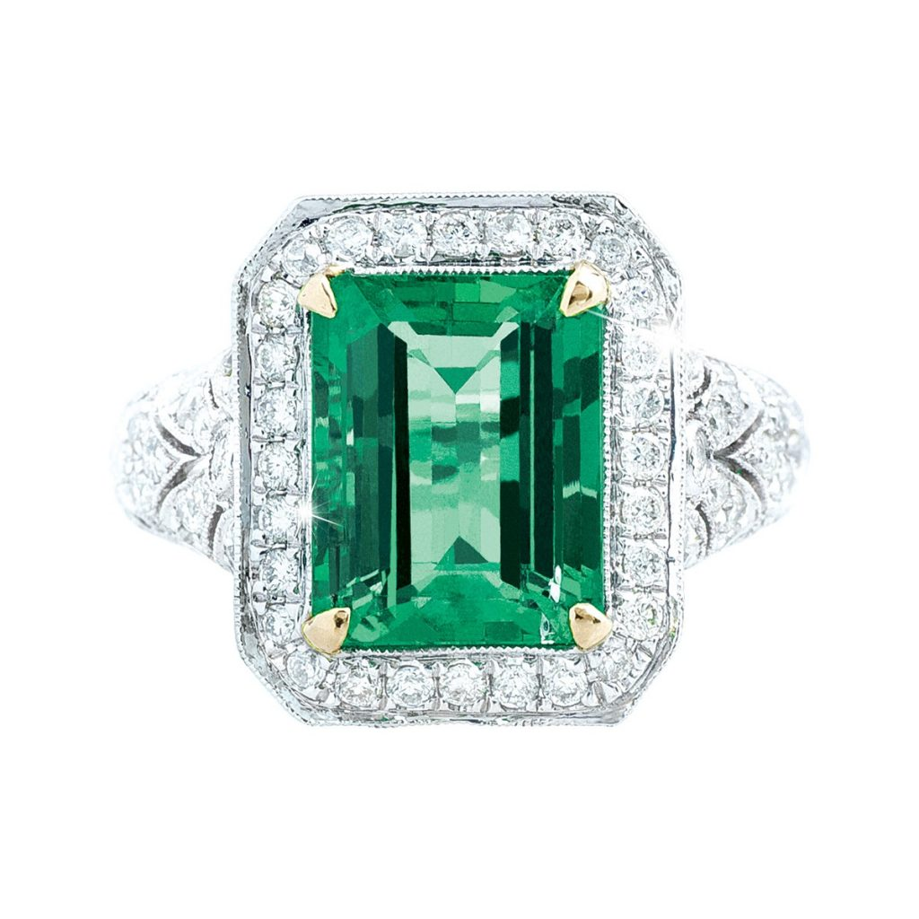 image of emerald ring may birthstone