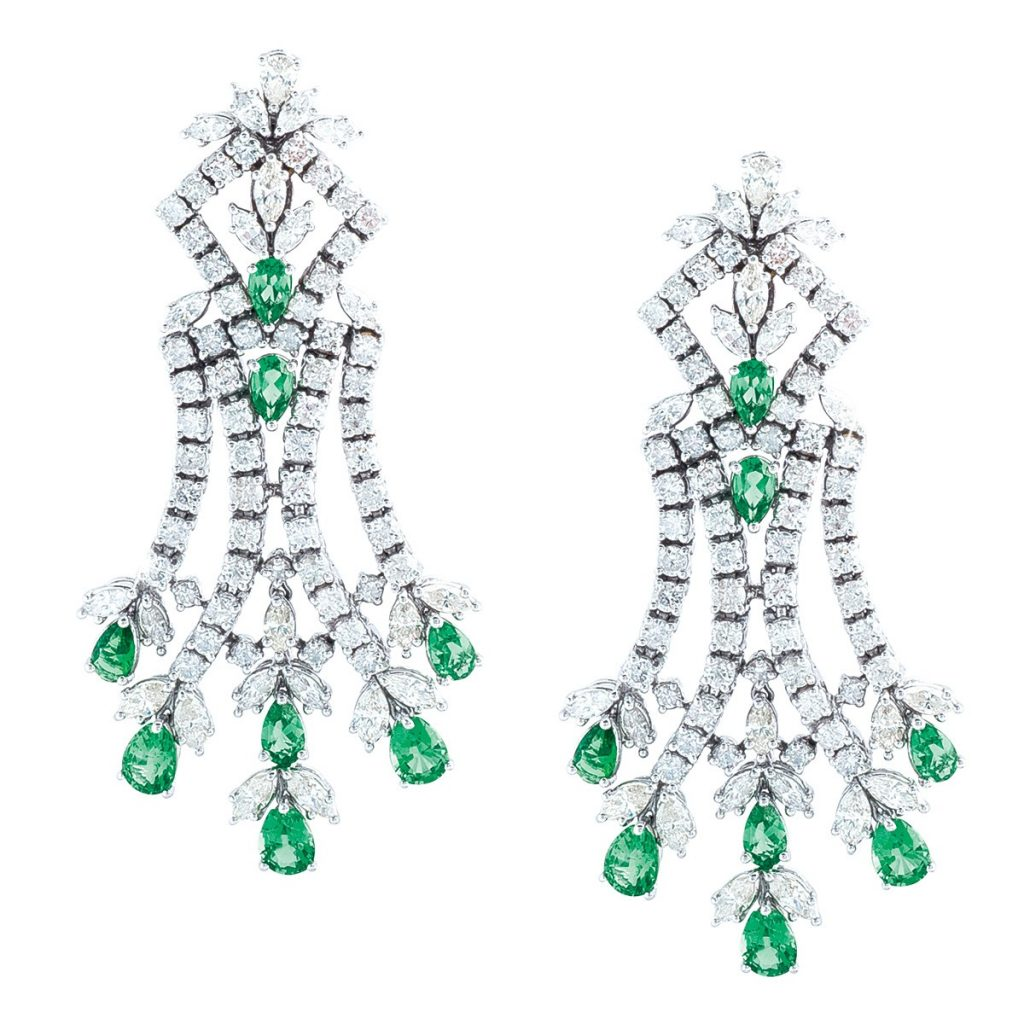 image of emerald earrings may birthstone