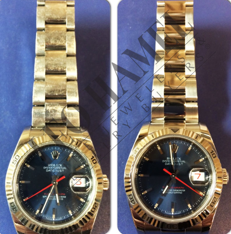 Rolex Watch Refinish