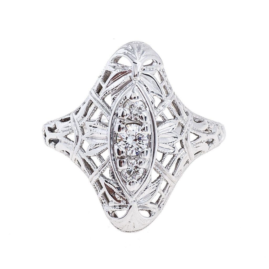 image of ring edwardian jewelry era