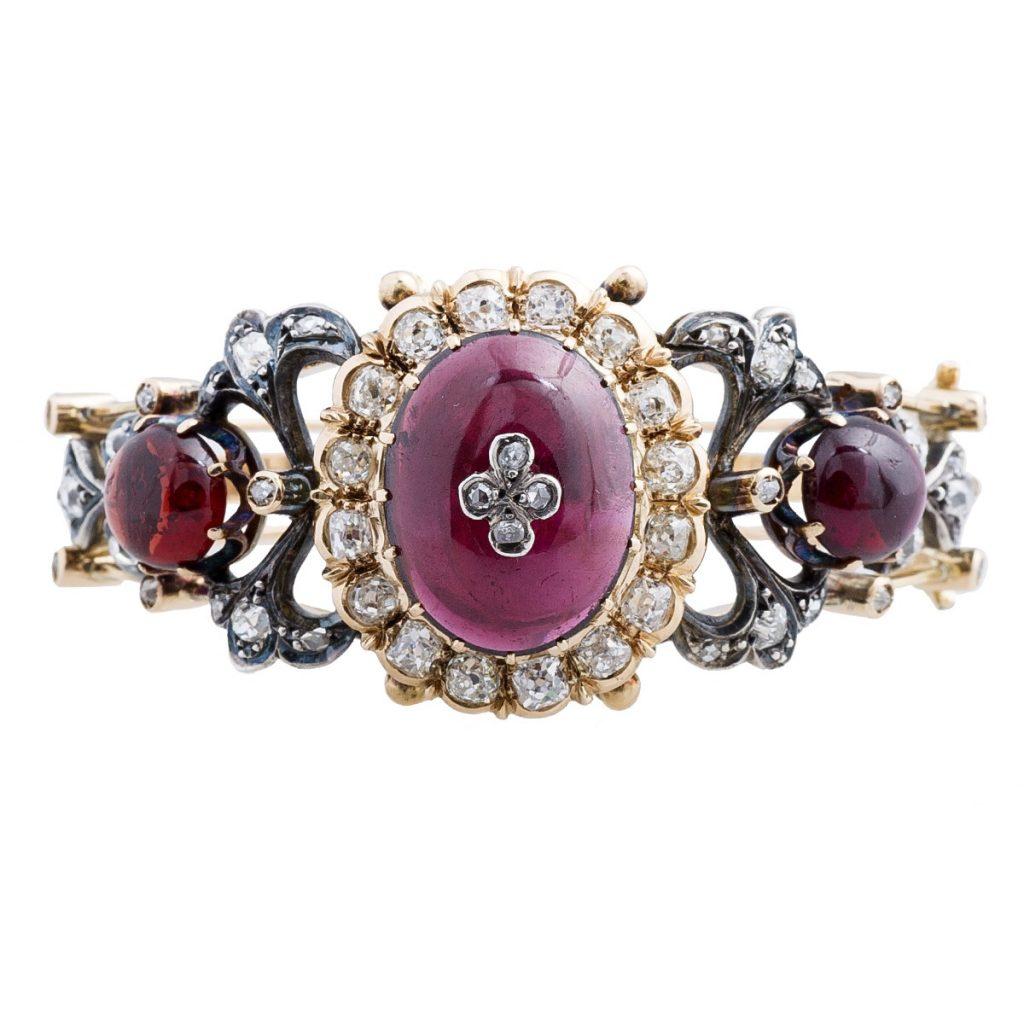 image of bracelet victorian jewelry era