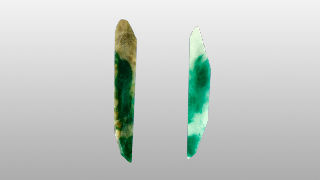 image of bleaching gemstone treatments