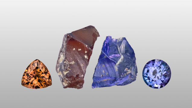 image of heat gemstone treatments