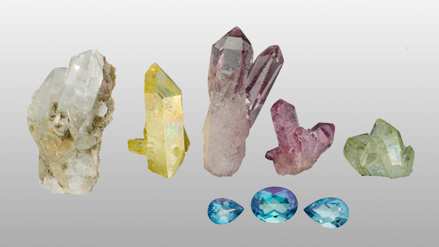 Image of surface coating gemstone treatments