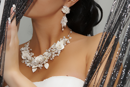 Pearl Earings and Necklace - Jewelry Store Poway