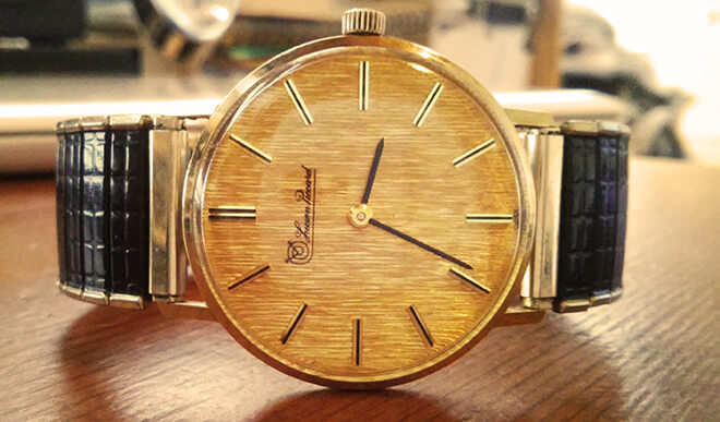Lucien Piccard Vintage Watch