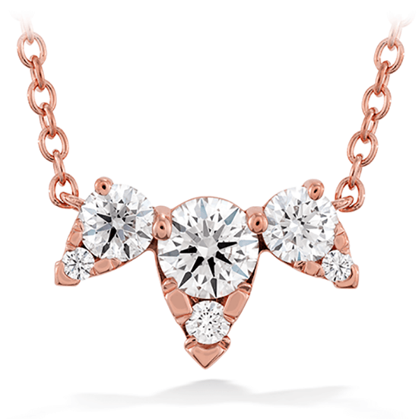 Hearts On Fire Triple Diamond Necklace: Prime Example of Versatility
