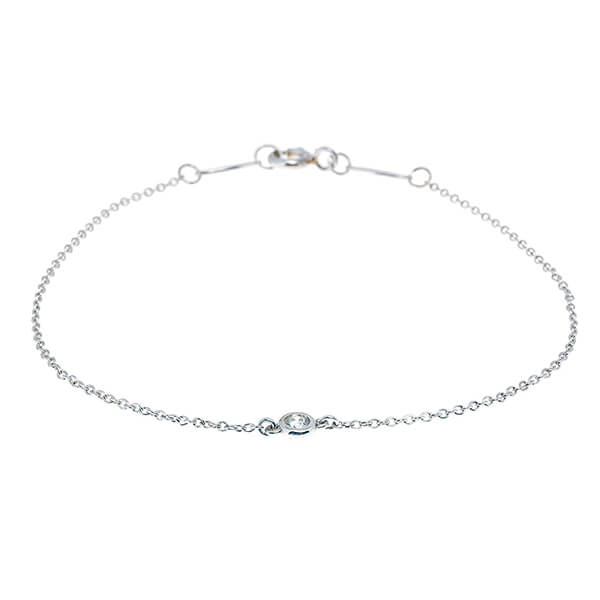 f60a86684 Why Tiffany's Diamonds by the Yard Bracelet is the One You Can Wear ...