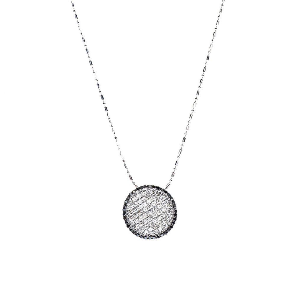 image of black diamond jewelry necklace