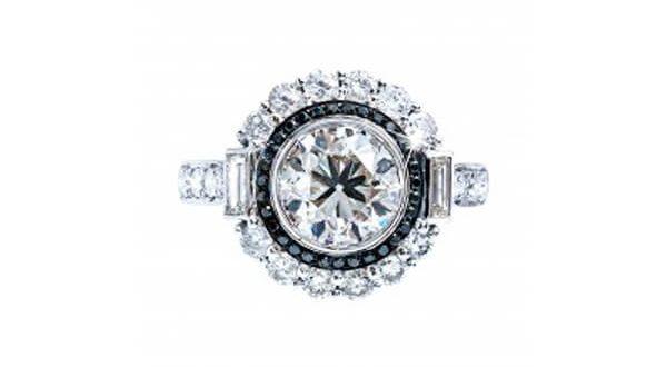 Engagement Ring - Black Diamond Jewelry