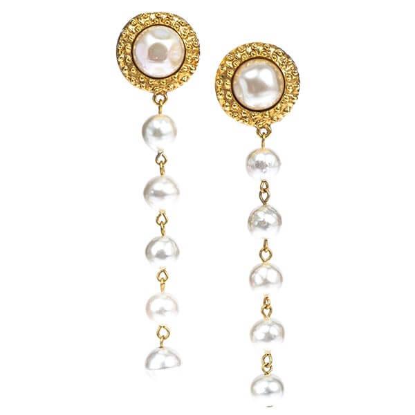 Chanel earrings near me - Dangling Earrings