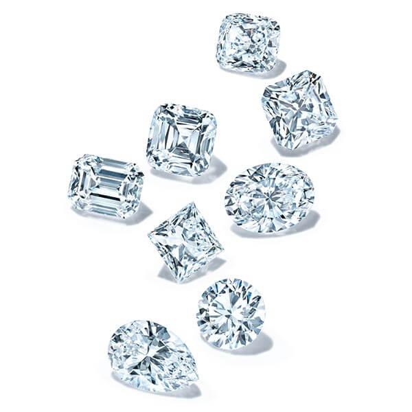 Diamond shapes - Diamond engagement rings near me