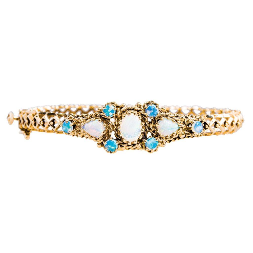 image of opal bracelet
