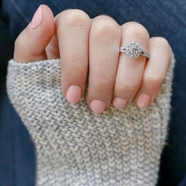 Vintage Tacori Engagement Ring