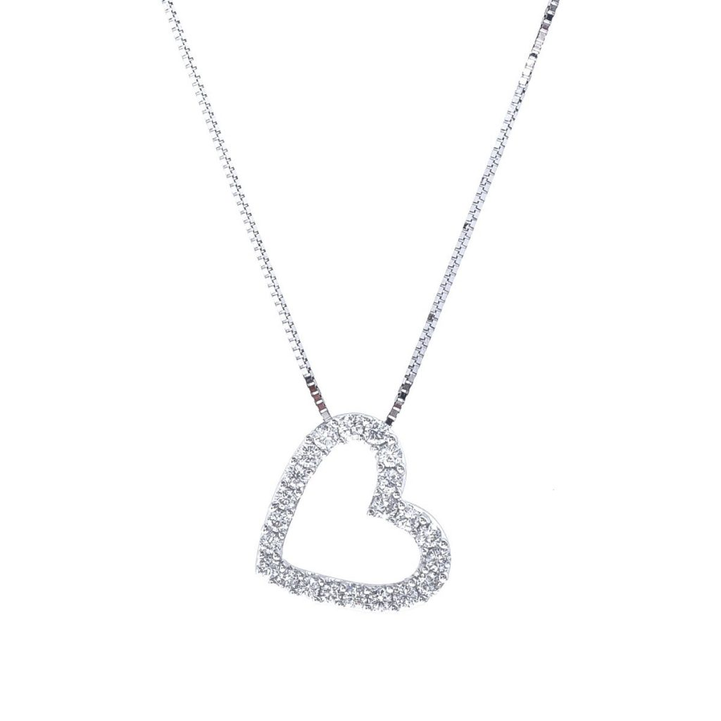 valentines diamond necklace en day white us s with gold valentine