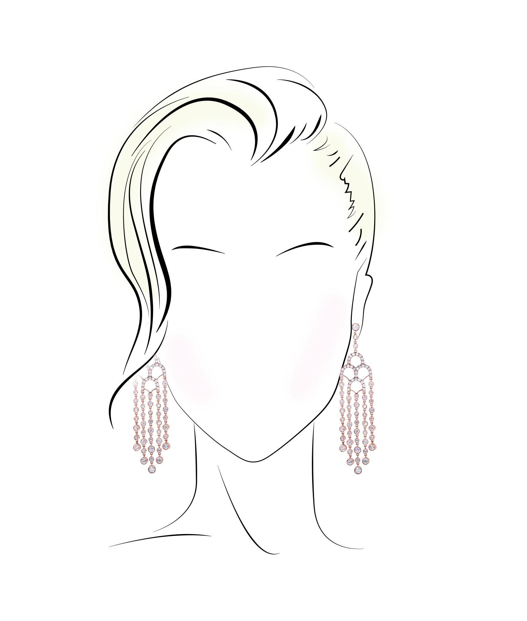 heart-face-earring-style