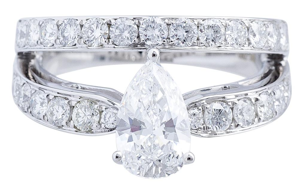 pear-cut-engagement-ring-with-double-band