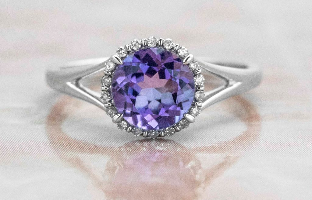 picture of amethyst ring