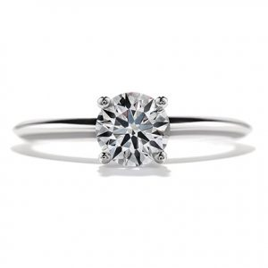classic solitaire prong setting