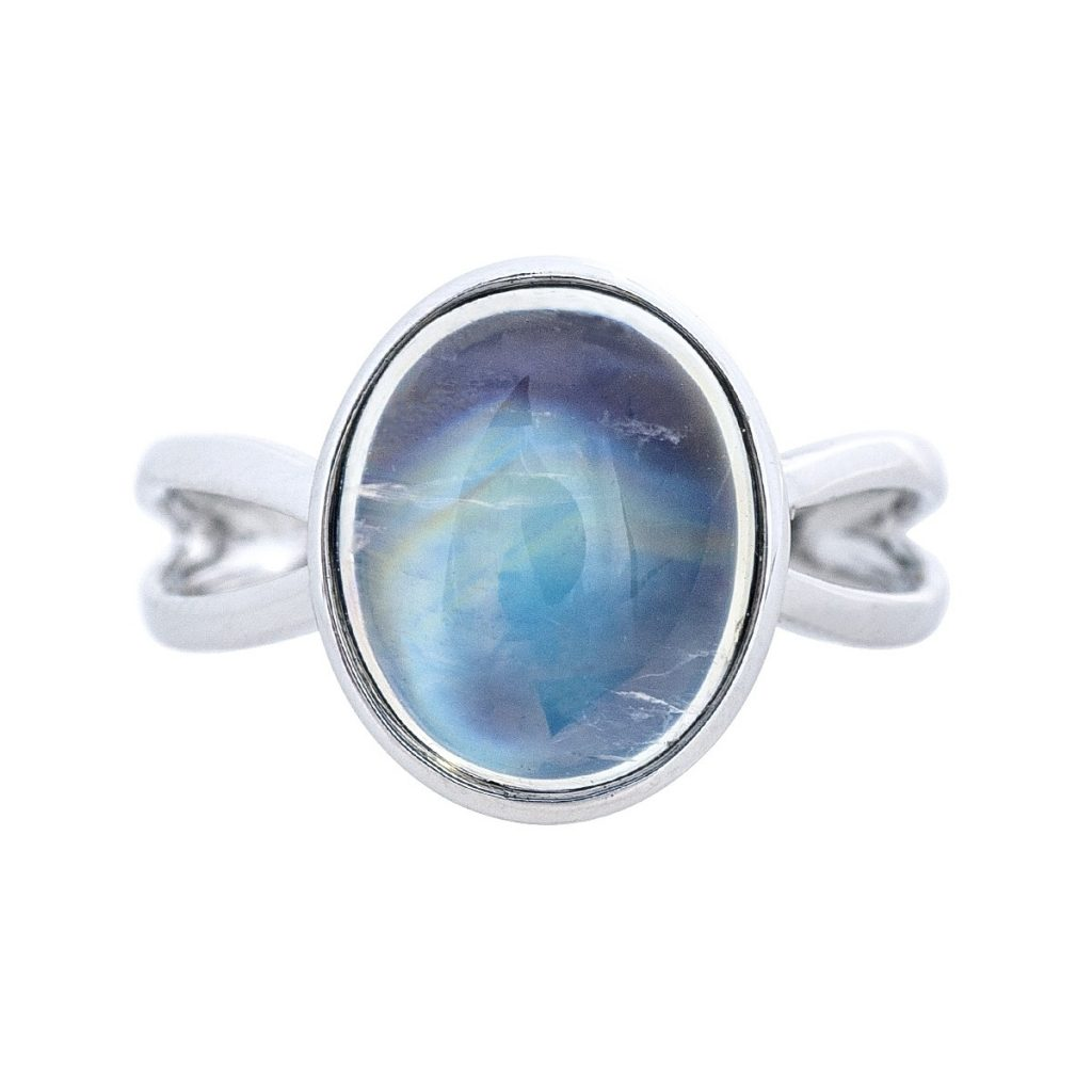 moonstone ring for a June birthstone gift