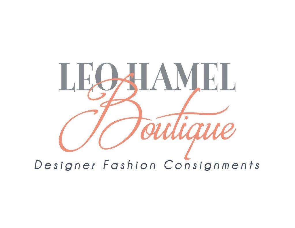 image of Leo Hamel Boutique logo for designer fashion consignments