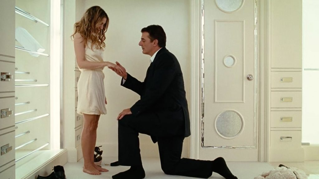 image of sex and the city proposal