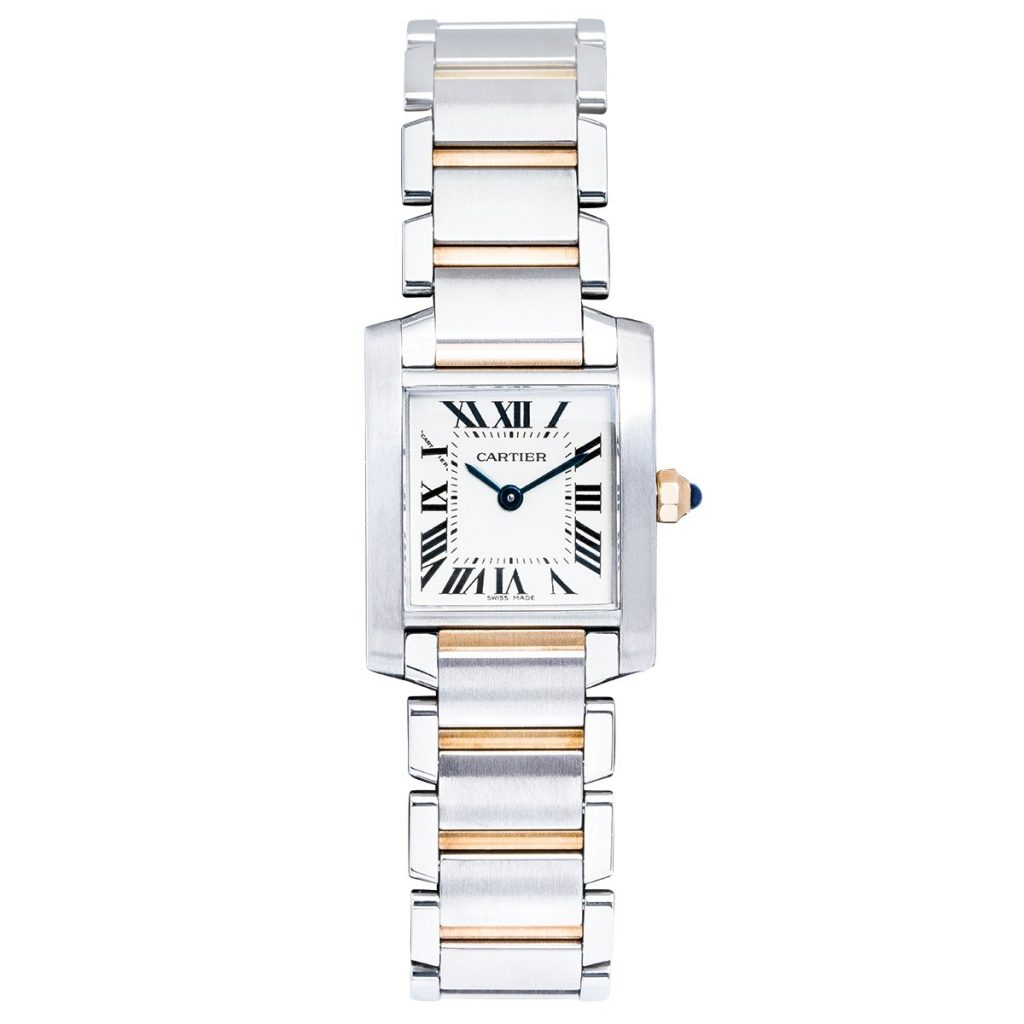 image of cartier tank watch classic jewelry