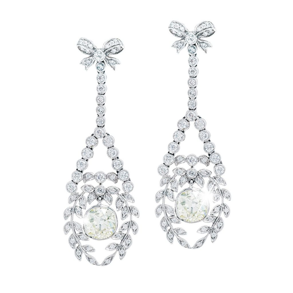 image of chandelier earrings classic jewelry