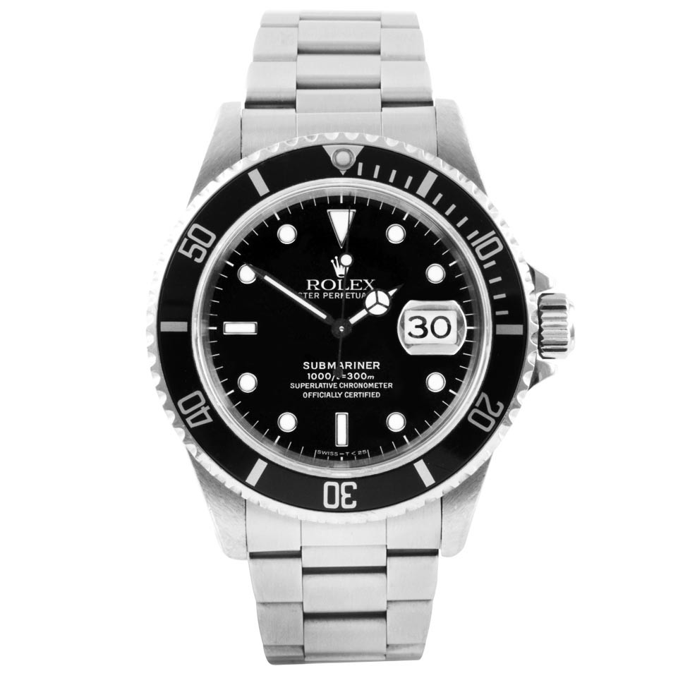 image of rolex dive watch