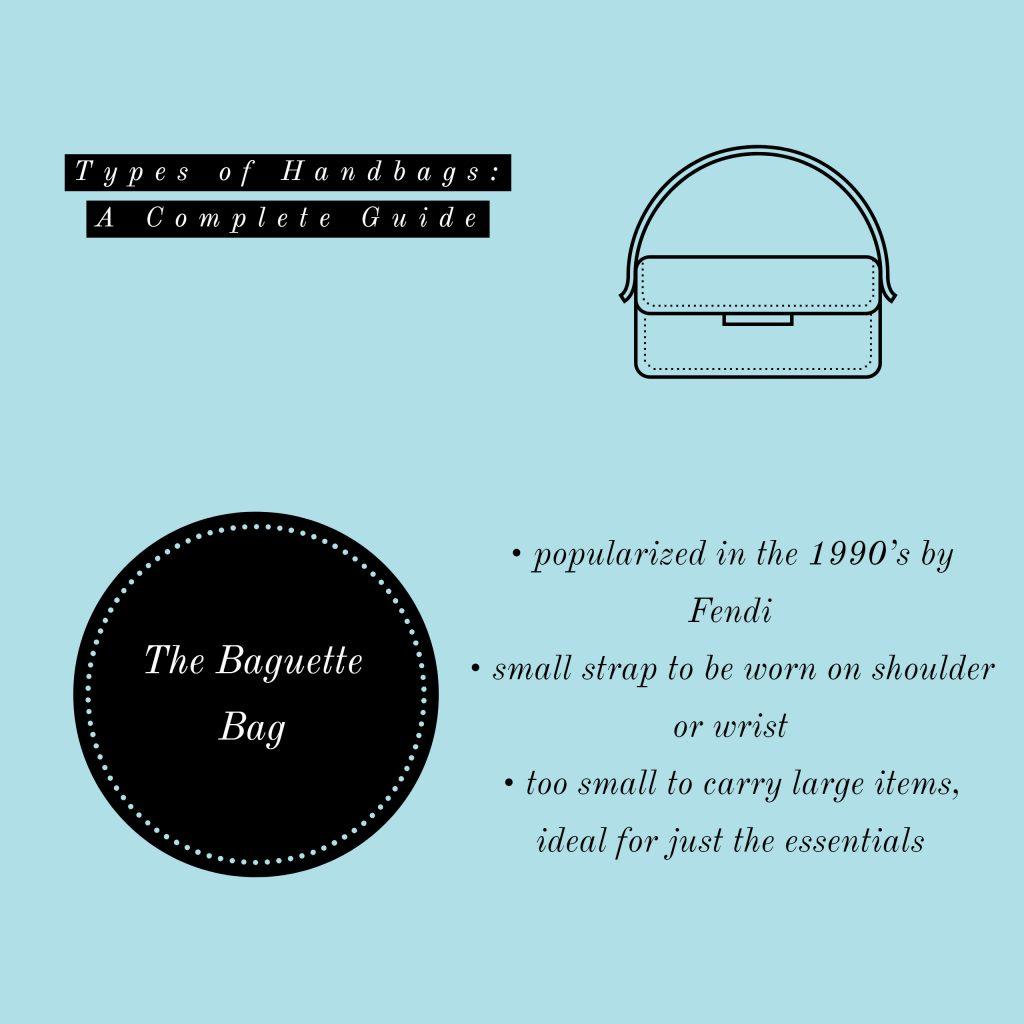 image of baguette bag types of handbags