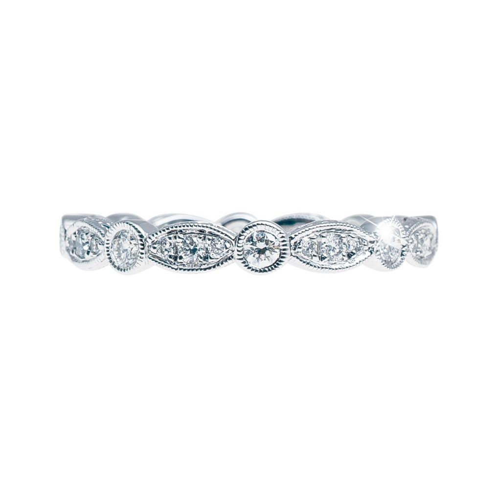 image of eternity band holiday gift guide
