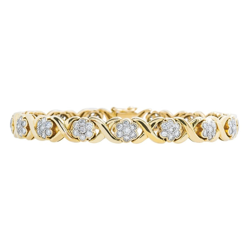 image of tennis bracelet holiday gift guide