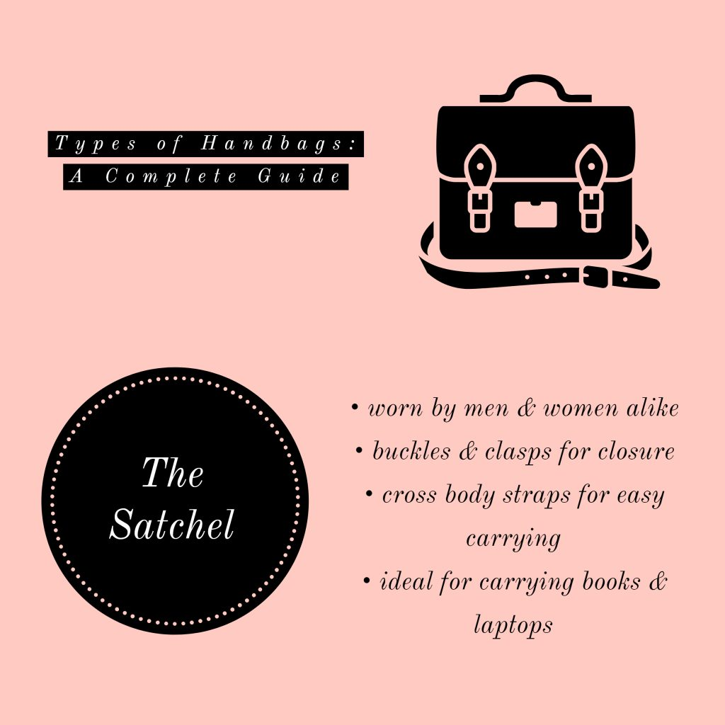 image of satchel types of handbags