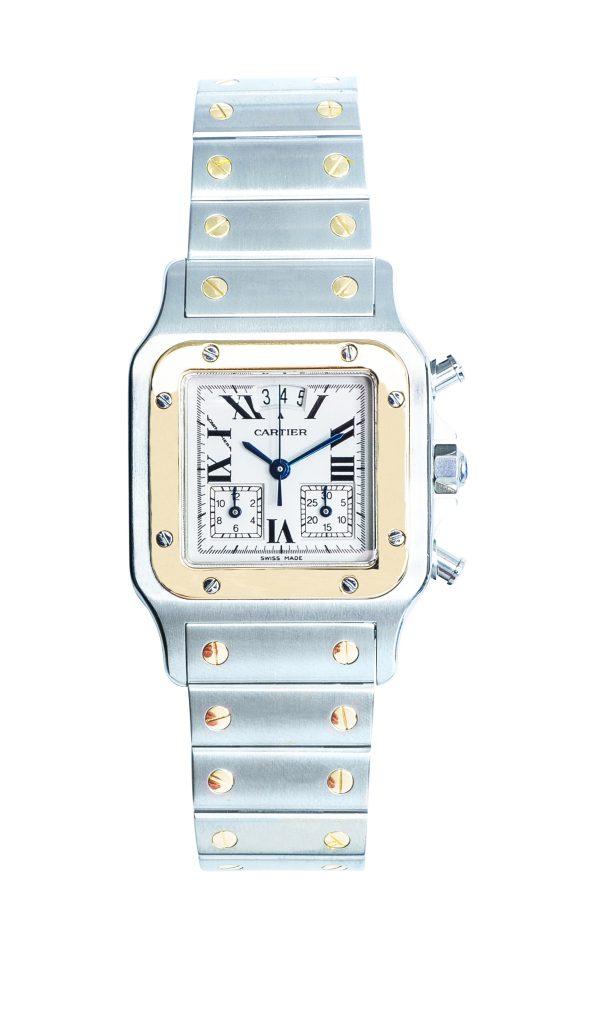 image of cartier santos watch