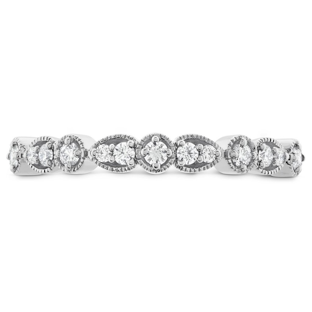 image of diamond band non-diamond engagement rings