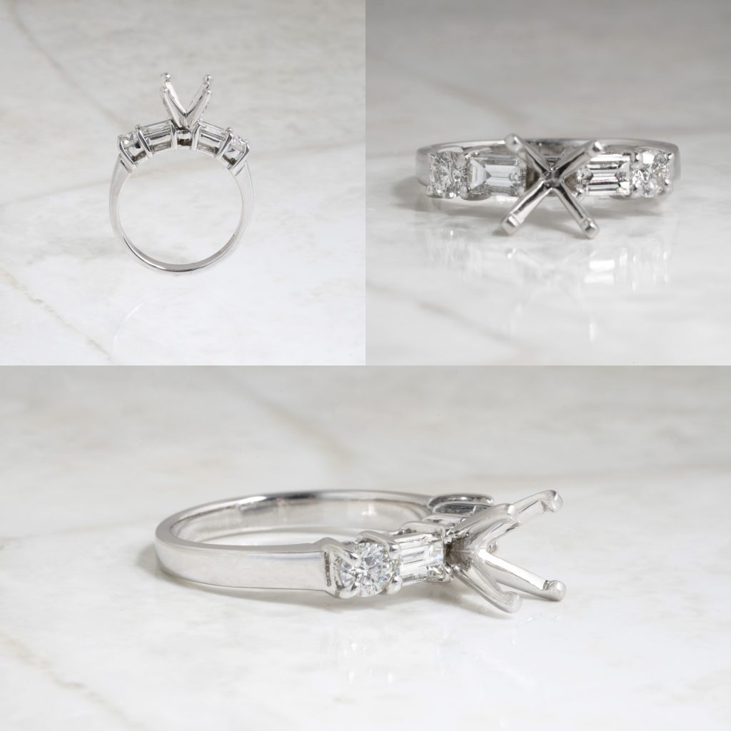 image of four prong setting