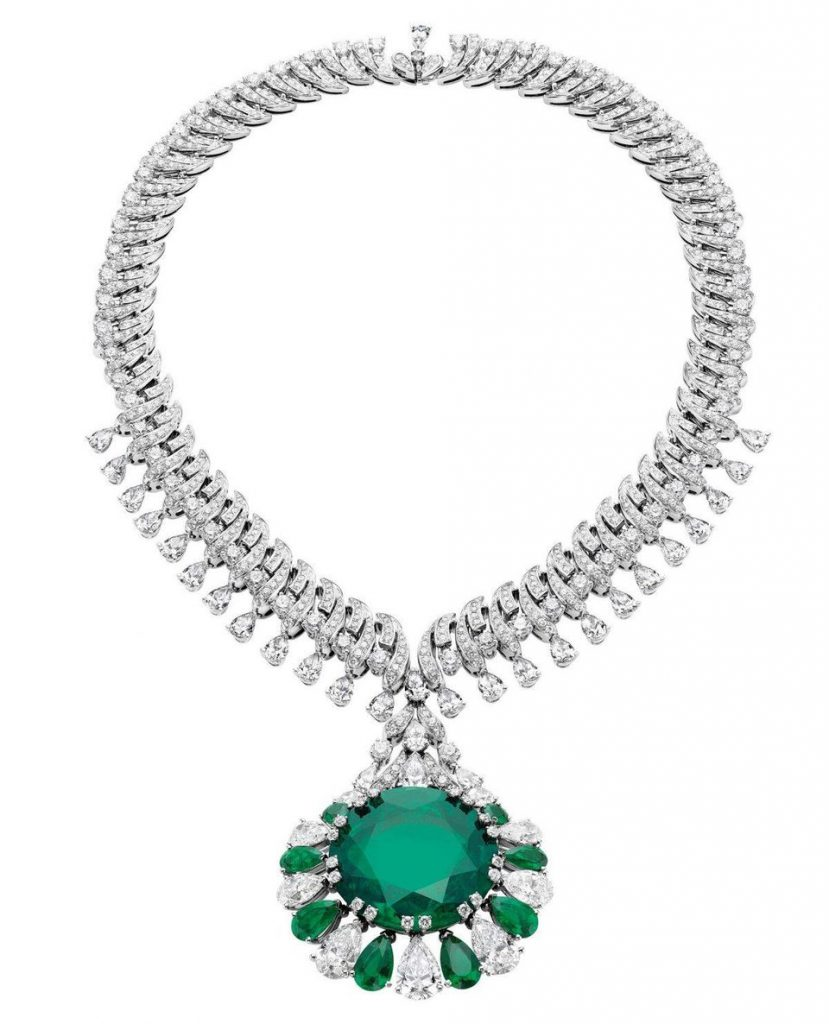 image of bulgari high jewelry necklace