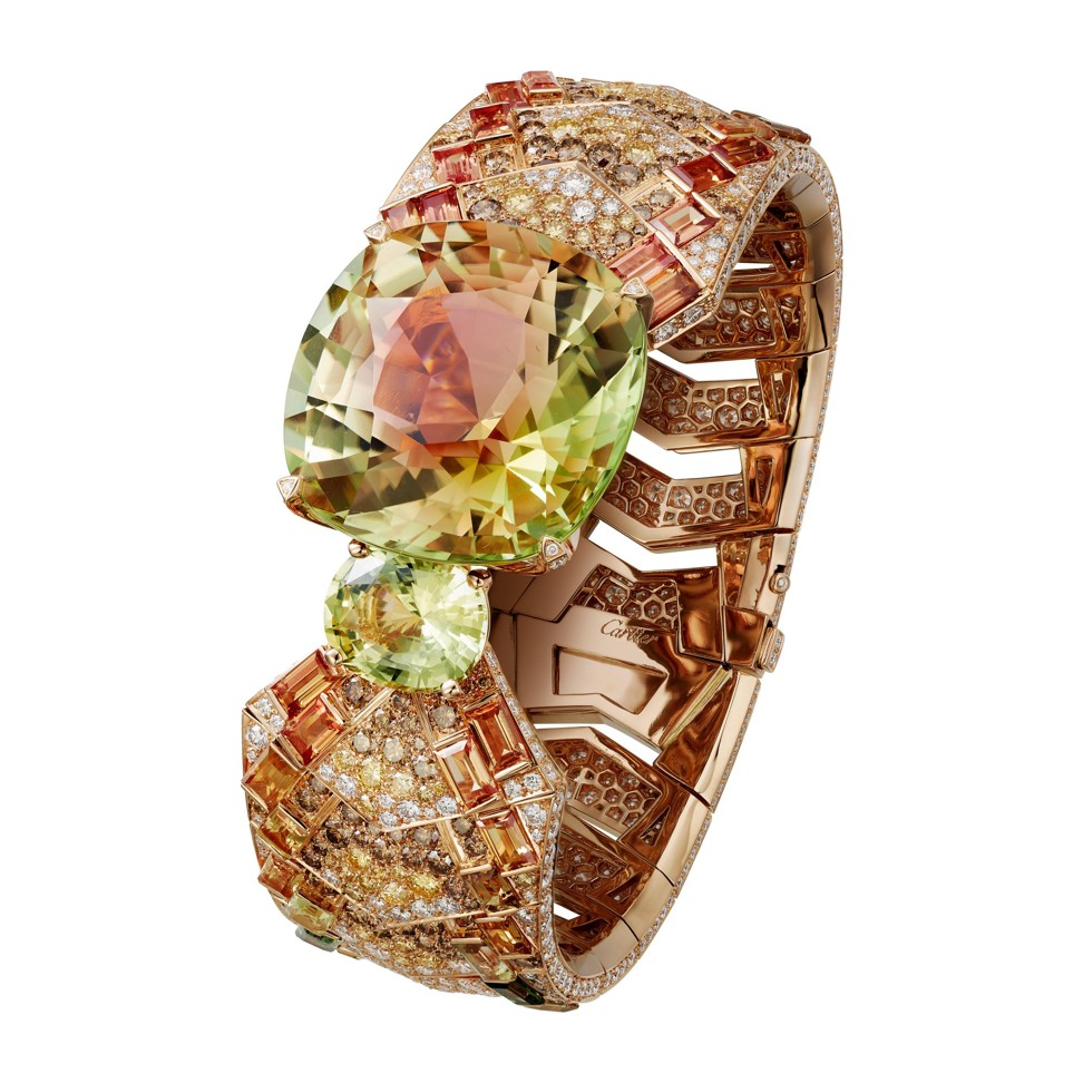 image of cartier bracelet high jewelry