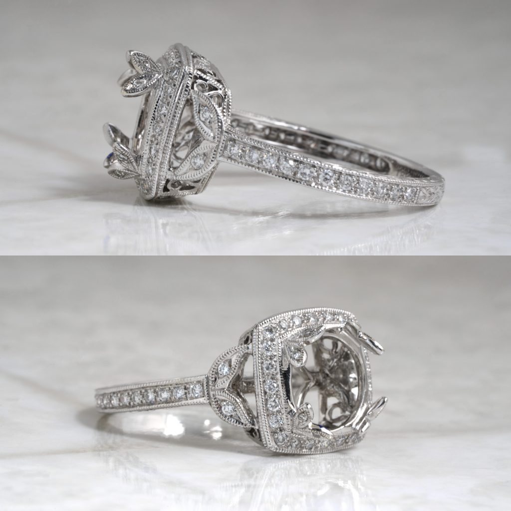 image of specialty prong setting