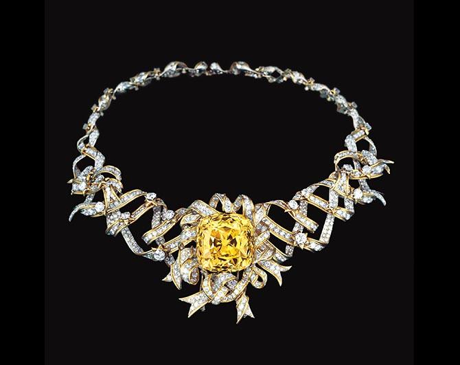 image of tiffany yellow diamond