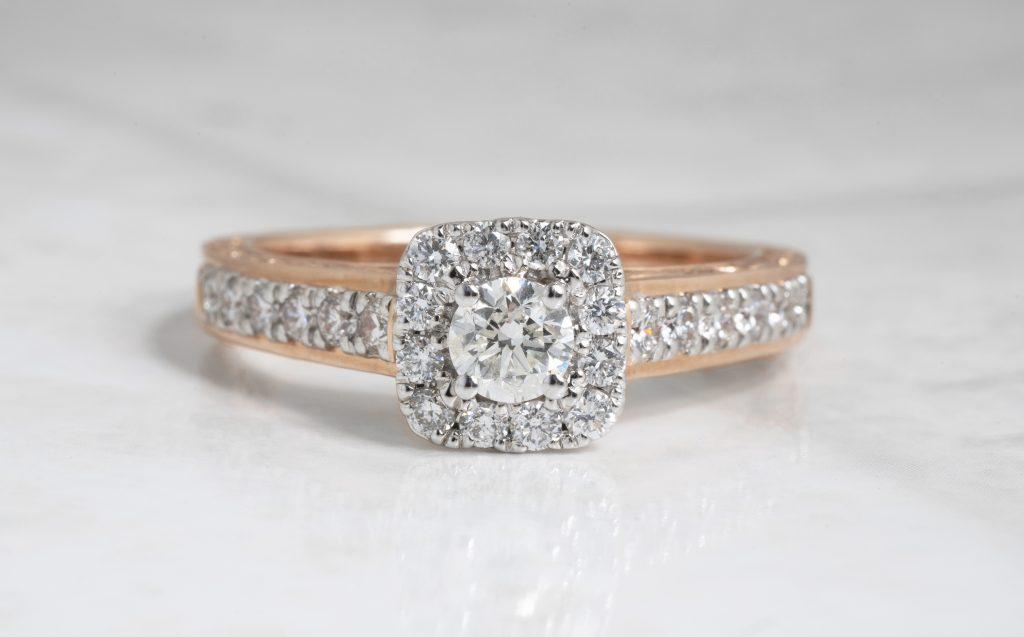 Trend Alert Mixed Metal Engagement Rings Leo Hamel Fine Jewelers Blog