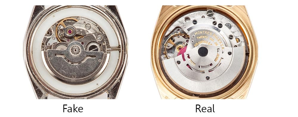image of rolex movement how to spot rolex