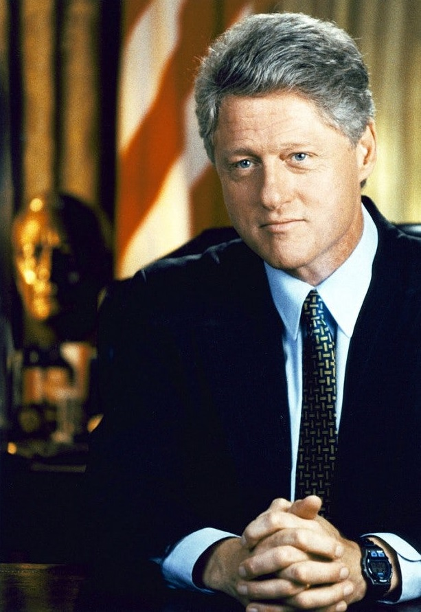 image of bill clinton timex