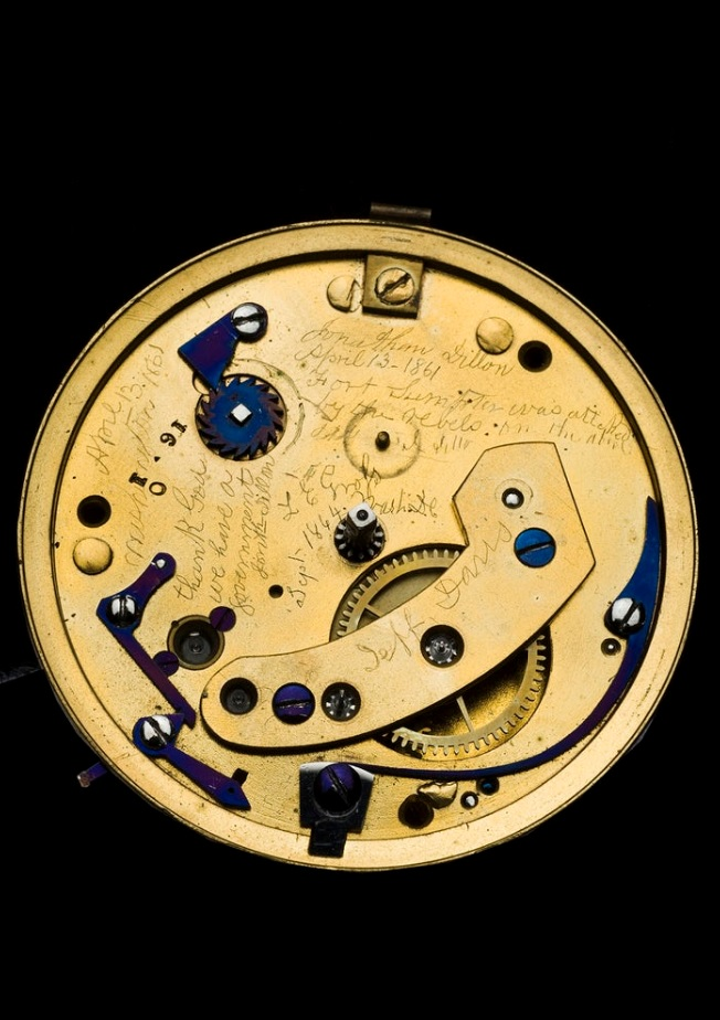 image of pocket watch movement
