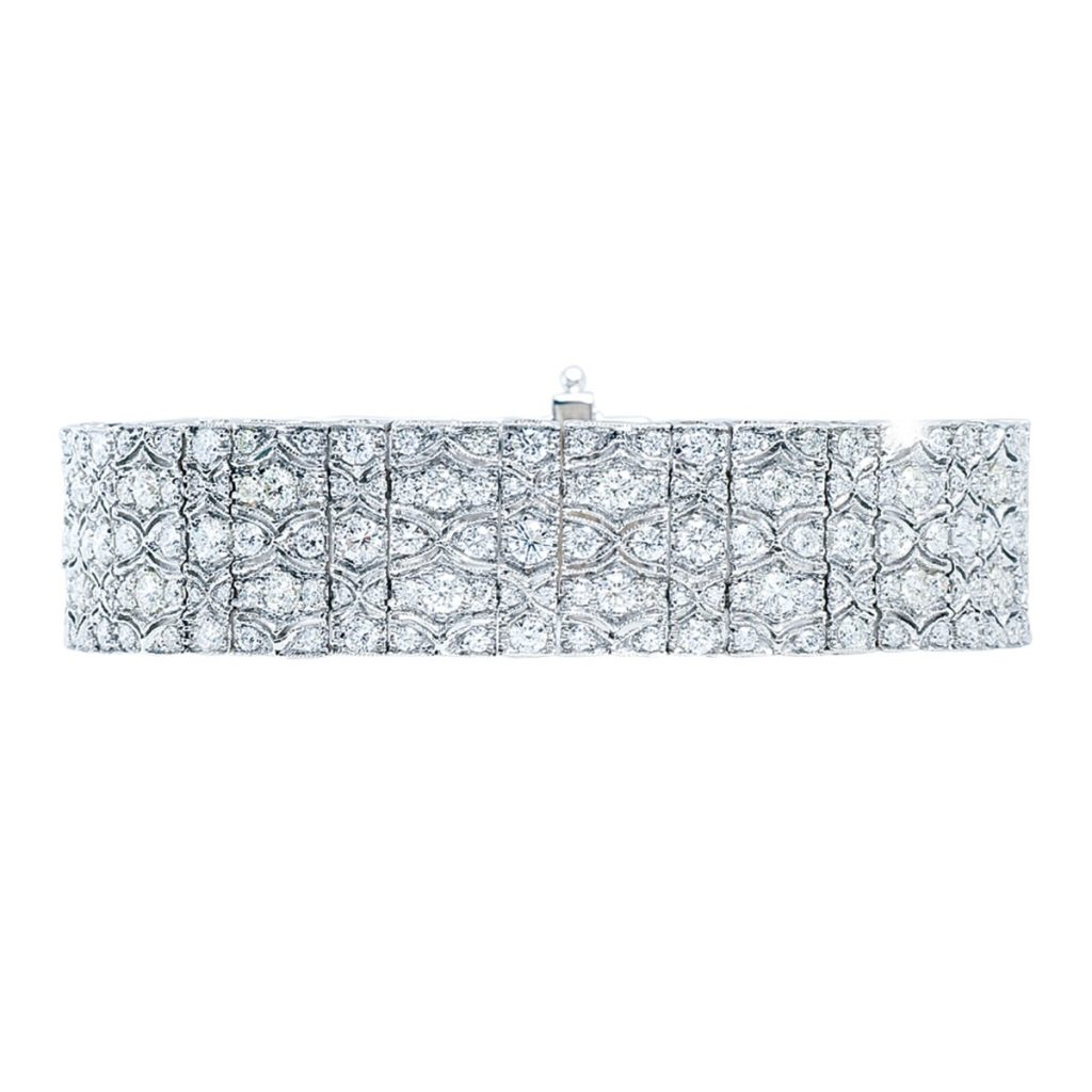 image of diamond bracelet wedding jewelry