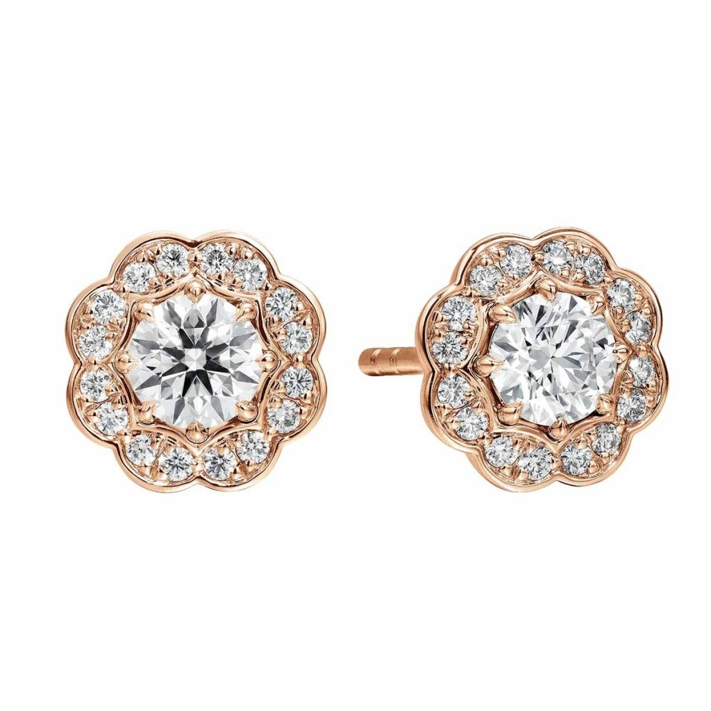 image of stud earrings wedding jewelry