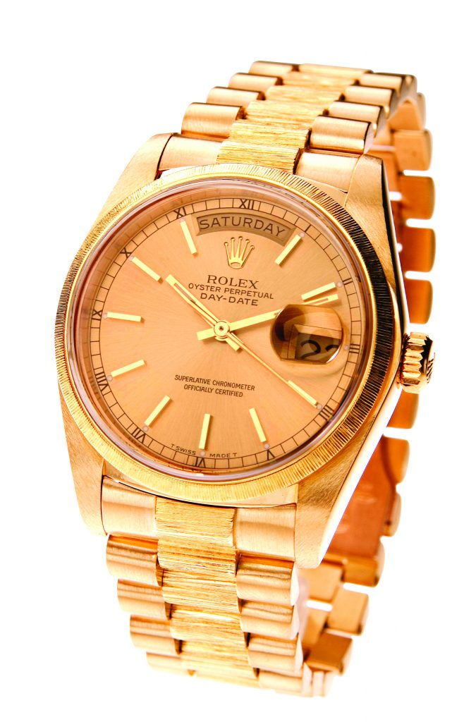 image of Rolex president watch
