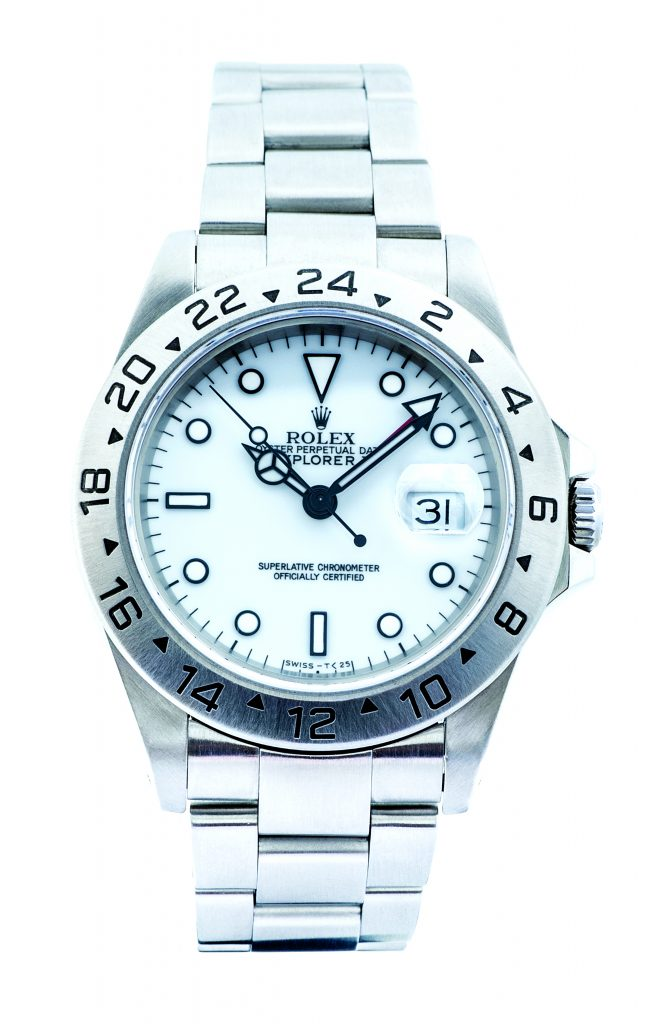 image of rolex polar