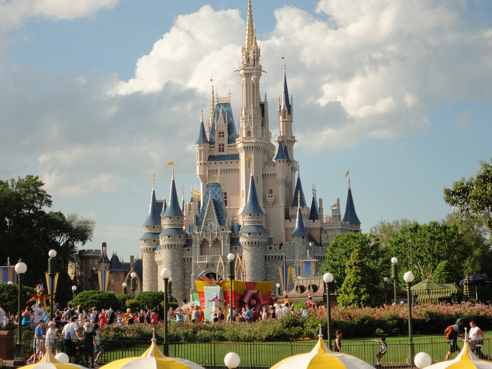 image of disney world castle