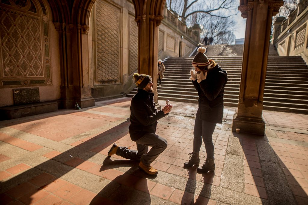 image of marriage proposal